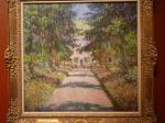 Monet - La Grande allée à Giverny